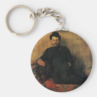 Henri de Toulouse-Lautrec- Gustave Lucien Dennery Keychain