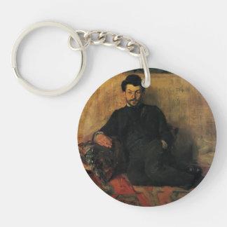 Henri de Toulouse-Lautrec- Gustave Lucien Dennery Acrylic Key Chain