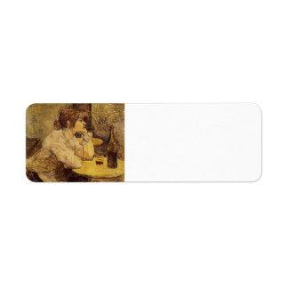 Henri de Toulouse-Lautrec- Hangover Return Address Labels