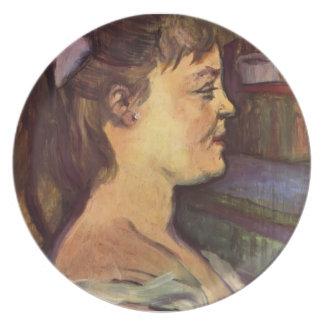 Henri de Toulouse-Lautrec: Housewife Party Plate
