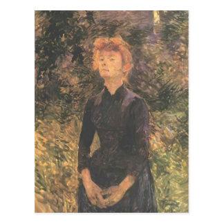 Henri de Toulouse-Lautrec- In Batignolles... Post Card