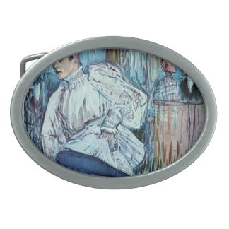 Henri de Toulouse-Lautrec- Jane Avril Dancing Belt Buckle