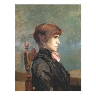 Henri de Toulouse-Lautrec- Jeanne Wenz Postcard