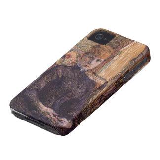 Henri de Toulouse-Lautrec- Madame Juliette Pascal iPhone 4 Cases