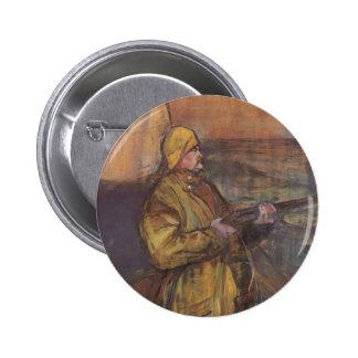 Henri de Toulouse-Lautrec-Maurice Joyant Somme bay Pinback Buttons