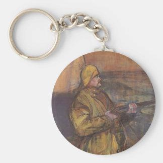 Henri de Toulouse-Lautrec-Maurice Joyant Somme bay Keychains