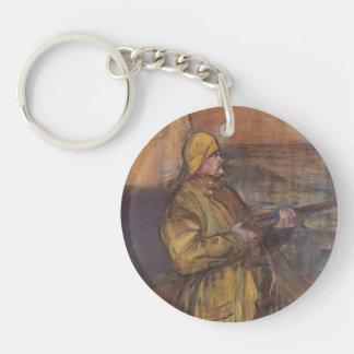 Henri de Toulouse-Lautrec-Maurice Joyant Somme bay Acrylic Key Chains