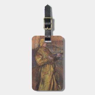 Henri de Toulouse-Lautrec-Maurice Joyant Somme bay Tag For Luggage