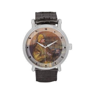 Henri de Toulouse-Lautrec-Maurice Joyant Somme bay Wrist Watches