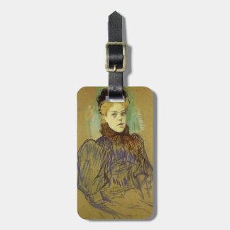 Henri de Toulouse-Lautrec- May Milton Luggage Tag