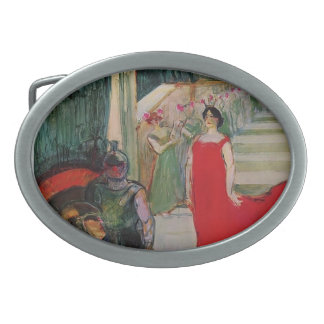 Henri de Toulouse-Lautrec- Messaline Belt Buckle