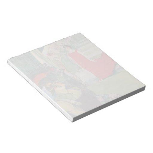 Henri de Toulouse-Lautrec- Messaline Memo Notepad