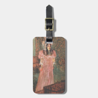 Henri de Toulouse-Lautrec- Miss May Belfort Tags For Luggage