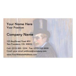 Henri de Toulouse-Lautrec- Monsieur Louis Pascal Business Card Templates