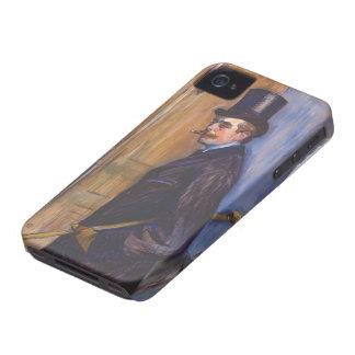 Henri de Toulouse-Lautrec- Monsieur Louis Pascal iPhone 4 Covers