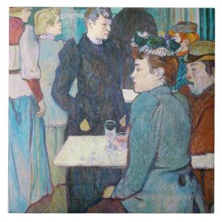 Henri de Toulouse-Lautrec | Moulin de la Galette Tile