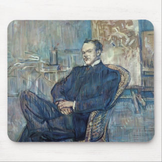 Henri de Toulouse-Lautrec- Paul Leclercq Mouse Pad