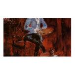 Henri de Toulouse-Lautrec-Princeteau in His Studio Business Card Templates