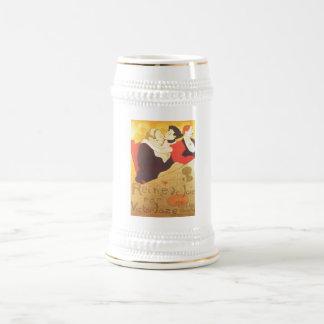 Henri de Toulouse-Lautrec Reine de Joie Beer Stein