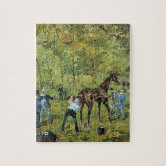 Henri de Toulouse-Lautrec- Souvenir of Auteuil Puzzles