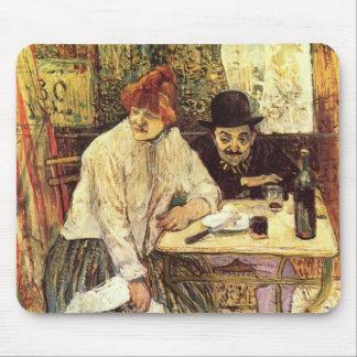 Henri de Toulouse-Lautrec- The Last Crunbs Mouse Pad