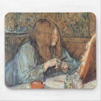 Henri de Toulouse- Madame Poupoule,Dressing Table Mouse Pad