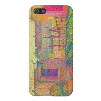 Henri Delavallee - Farmyard Cover For iPhone 5