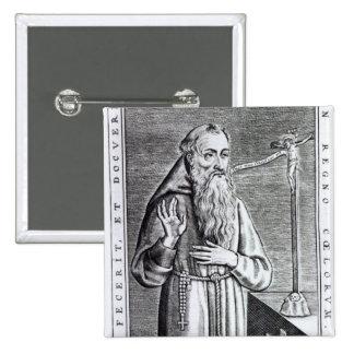 Henri, Duc de Joyeuse, known as Father Angelus 2 Inch Square Button