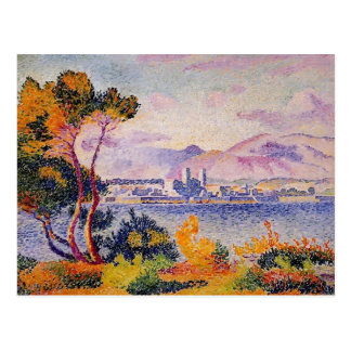 Henri-Edmond Cross- Antibes, Afternoon Postcard