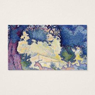 Henri-Edmond Cross- Landscape with Goats Business Card