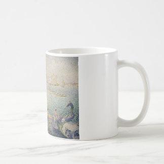 Henri-Edmond Cross - Regatta in Venice Coffee Mug