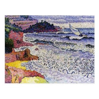 Henri-Edmond Cross- The Choppy Sea Postcard