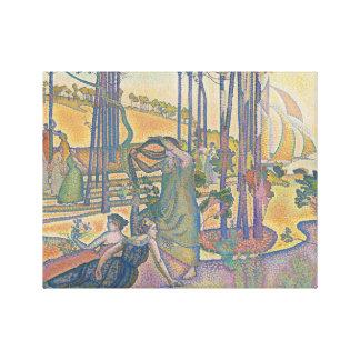 Henri-Edmond Cross - The Evening Air Canvas Print