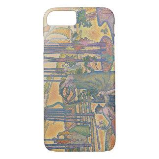 Henri-Edmond Cross - The Evening Air iPhone 8/7 Case