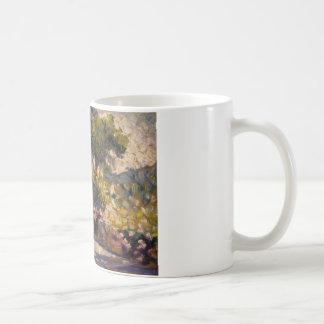 Henri-Edmond Cross - The Flowered Terrace Coffee Mug
