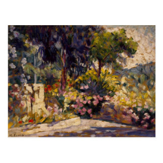 Henri-Edmond Cross - The Flowered Terrace Postcard