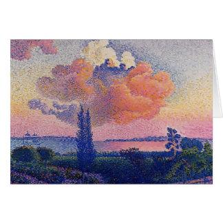 Henri-Edmond Cross- The Pink Cloud Card