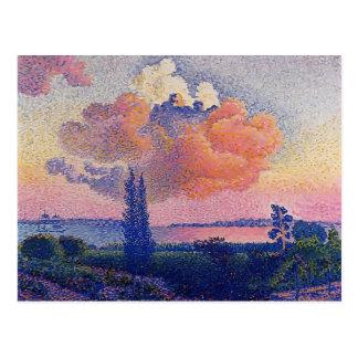 Henri-Edmond Cross- The Pink Cloud Postcard