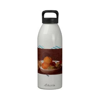 Henri Fantin-Latour- A Bowl Of Fruit Drinking Bottle