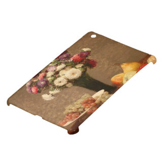 Henri Fantin-Latour- Asters and Fruit on a Table Case For The iPad Mini