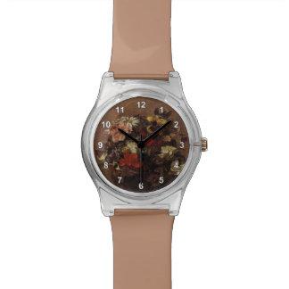Henri Fantin-Latour- Bouquet of Flowers Pansies Wristwatches