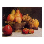 Henri Fantin-Latour- Bowl of Fruit Postcard