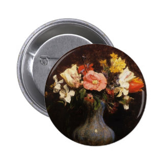 Henri Fantin-Latour- Flowers Camelias and Tulips Pins
