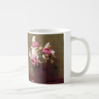 Henri Fantin-Latour Peonies and Roses Mug