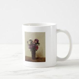 Henri Fantin-Latour-Vase of Flowers Queens Daisies Mugs
