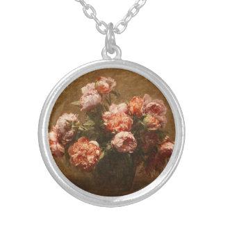 Henri Fantin-Latour Vase of Peonies Necklace