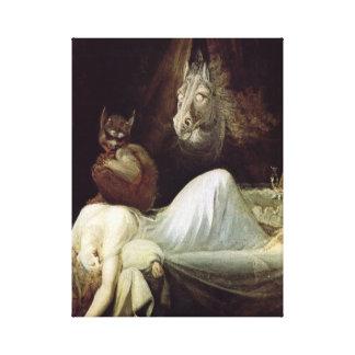 Henri Fuseli Nightmare Canvas Print