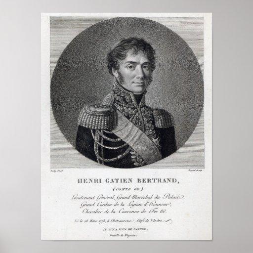 Henri Gatien Bertrand Poster