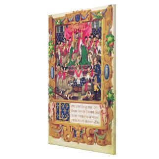 Henri II Canvas Print