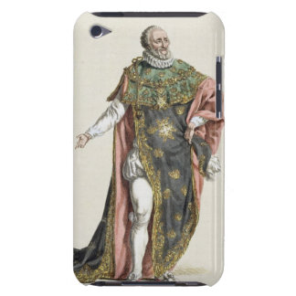 Henri IV (1553-1610) King of France, from 'Receuil Case-Mate iPod Touch Case